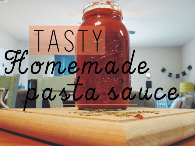 Say goodbye to store-bought pasta sauces! This recipe has just converted me, seriously.